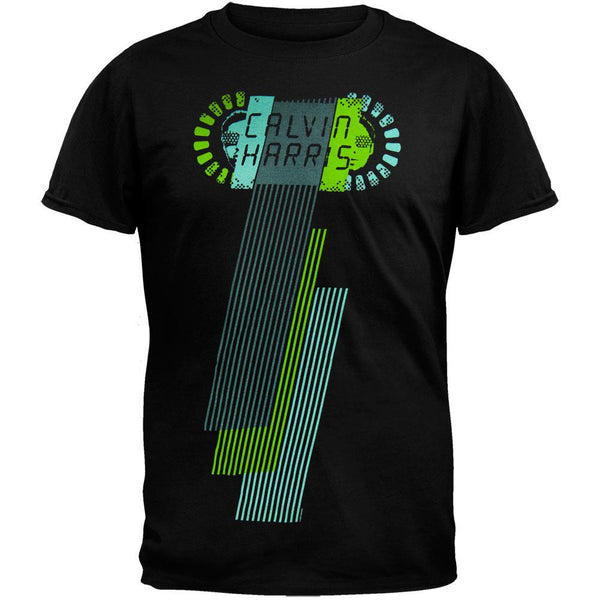 Calvin Harris - Horizontal Lines Soft T-Shirt