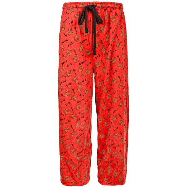 Domo - All-Over Angry Domo Red Sleep Pants