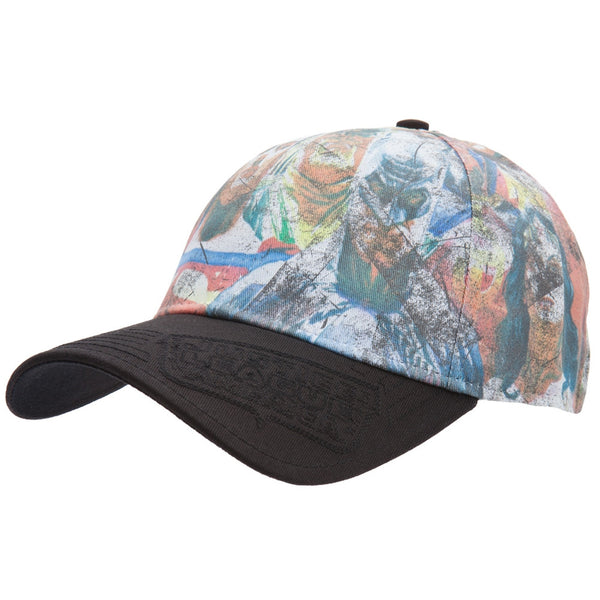 Justice League Of America - Painted Group Flex-Fit Cap