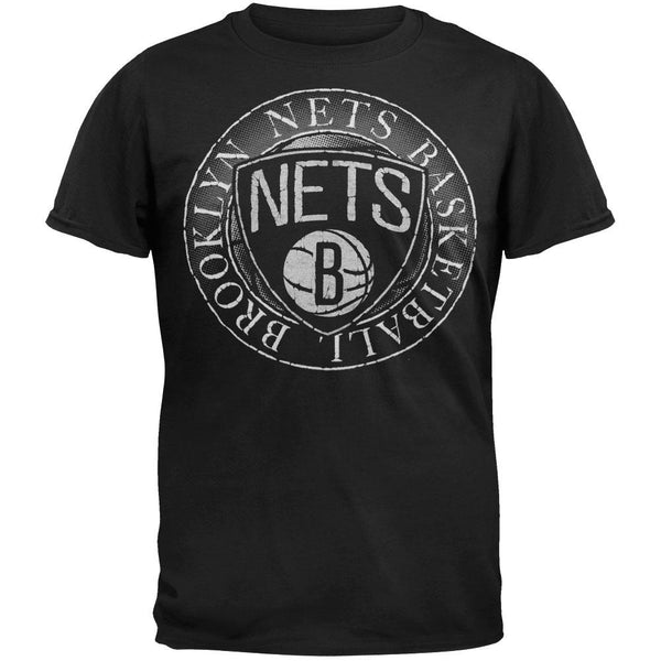 Brooklyn Nets - Basketball Logo Soft T-Shirt