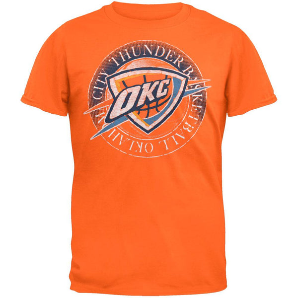 Oklahoma City Thunder  - Basketball Logo Soft T-Shirt
