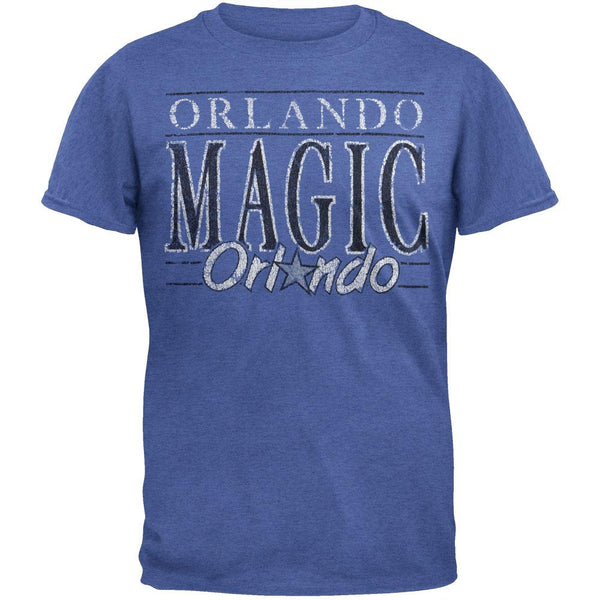 Orlando Magic - Crackle Classic Logo Soft T-Shirt