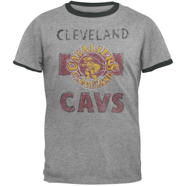 Cleveland Cavaliers - Classic Logo Soft Ringer T-Shirt