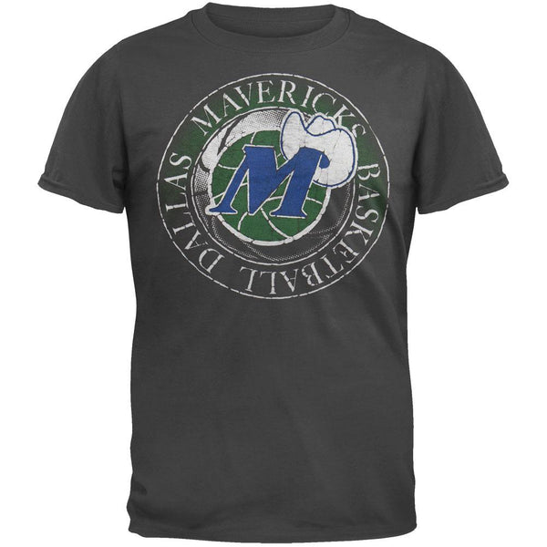 Dallas Mavericks - Basketball Logo Soft T-Shirt