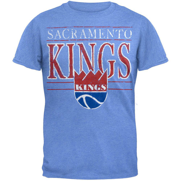 Sacramento Kings - Crackle Classic Logo Soft T-Shirt