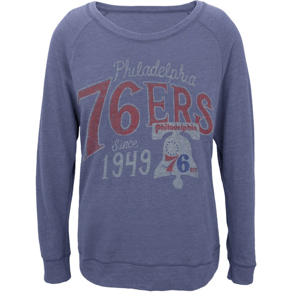 Philadelphia 76ers - 1949 Off-Shoulder Juniors Long Sleeve T-Shirt