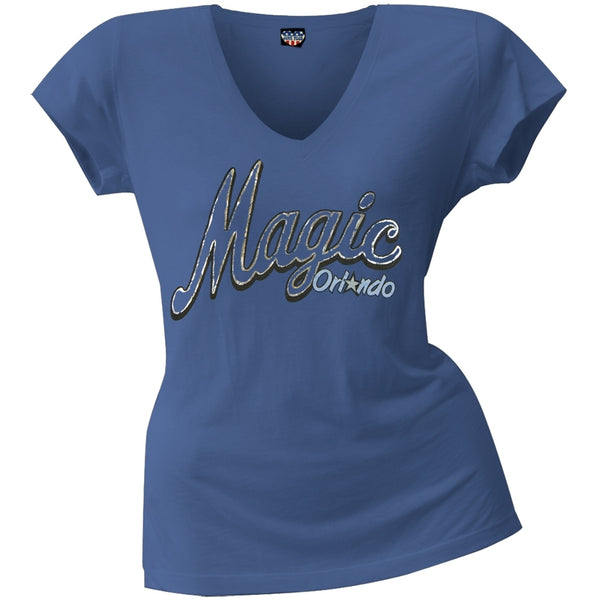 Orlando Magic - Logo Juniors V-Neck T-Shirt