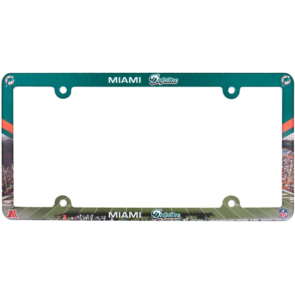 Miami Dolphins - Field Scene License Plate Frame