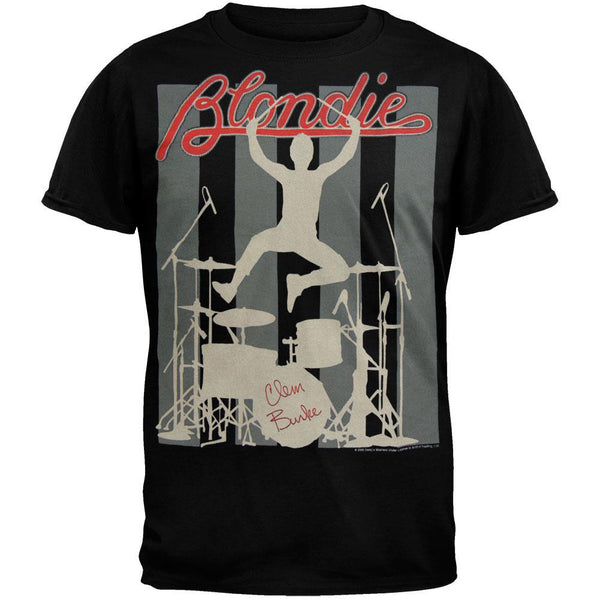 Blondie - Clem Burke Soft T-Shirt