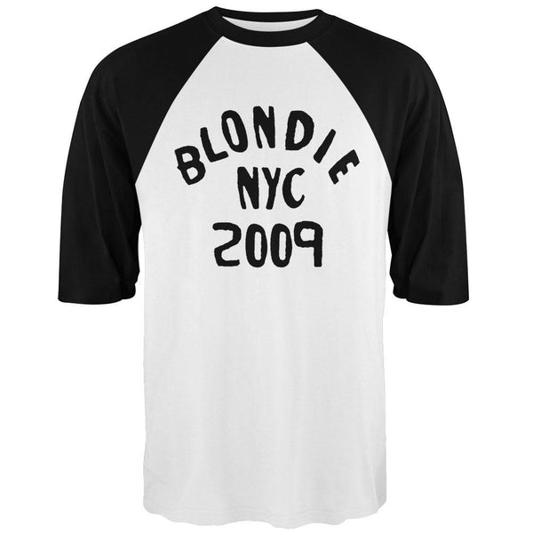 Blondie - NYC 2009 3/4 Sleeve