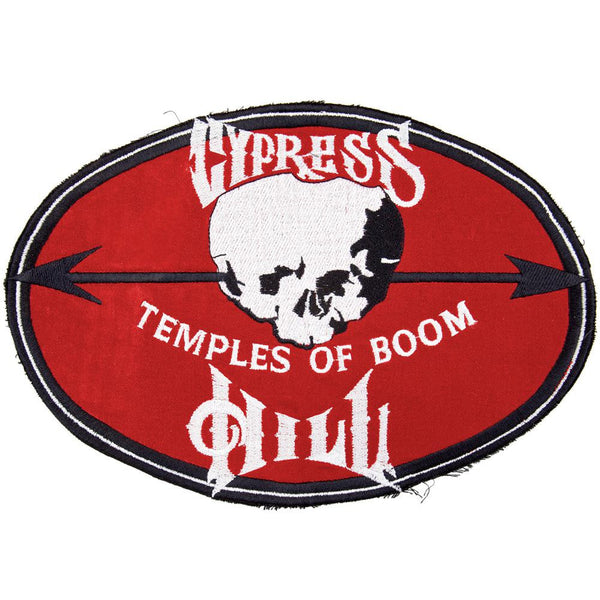 "Cypress Hill - Temples Jumbo Patch 7.5"" x 11"""
