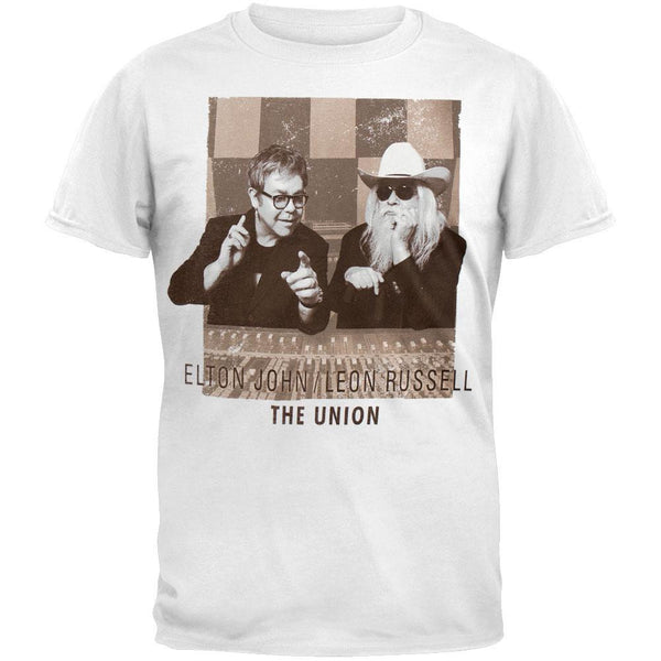 Elton John & Leon Russel - The Union T-Shirt