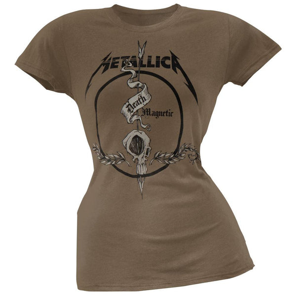 Metallica - Arrow Skull Juniors T-Shirt