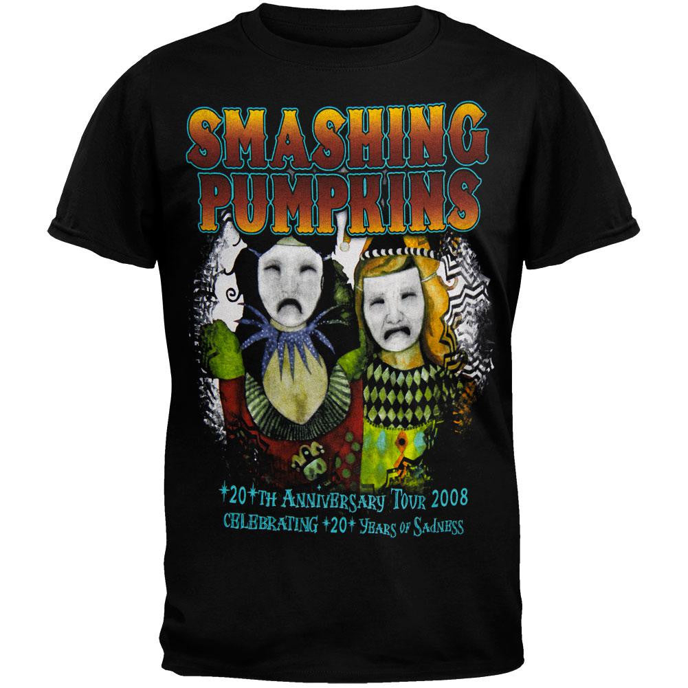 b94896219d28 Smashing Pumpkins - Harlequin Checkers 2008 Tour T-Shirt – OldGlory.com