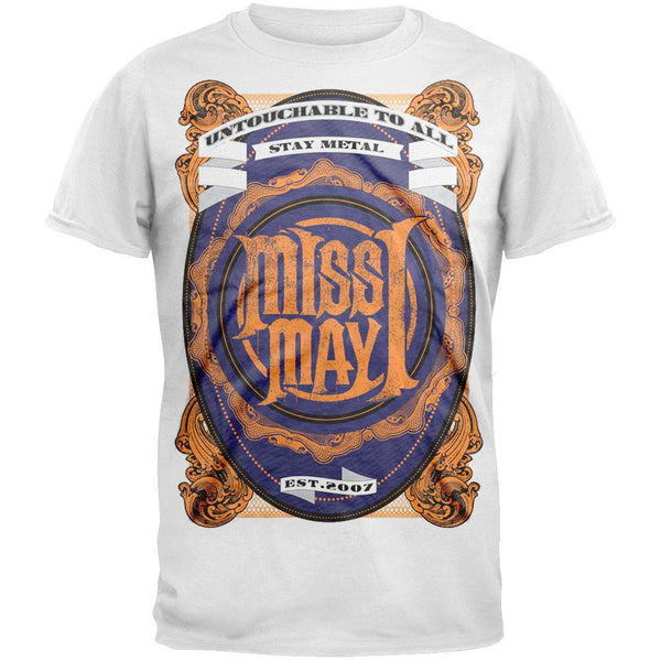 Miss May I - Metal Crest T-Shirt