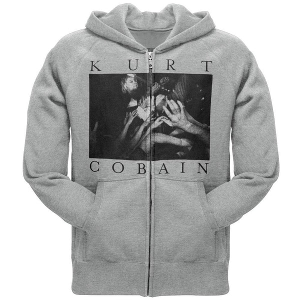 Kurt Cobain - Photo Logo Zip Hoodie