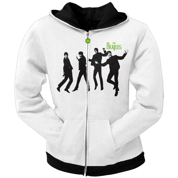 Beatles - Green Apple Juniors Zip Hoodie