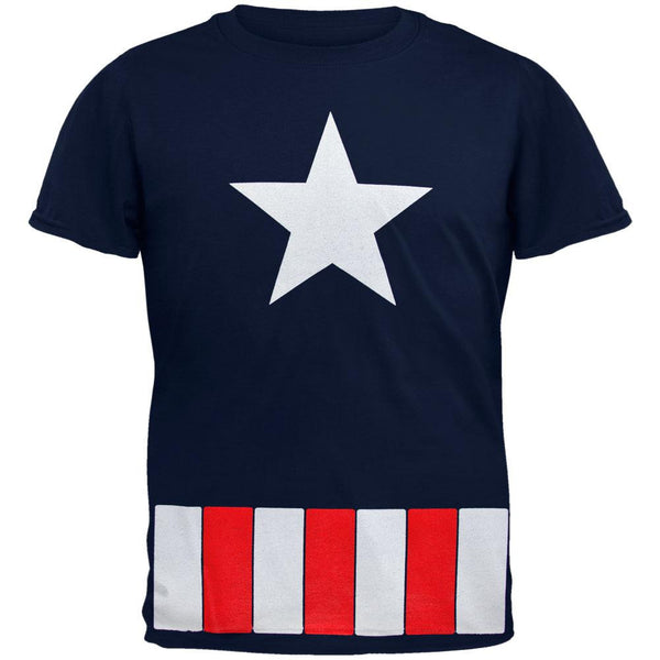 Captain America - Great Star Costume Juvy T-Shirt