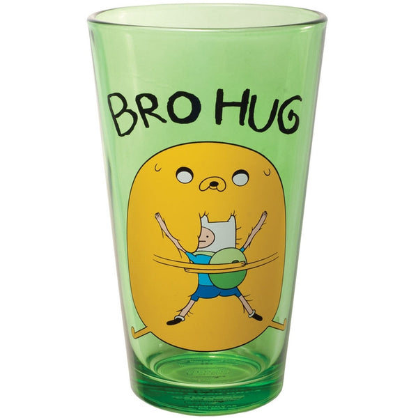 Adventure Time - Bro Hug Pint Glass