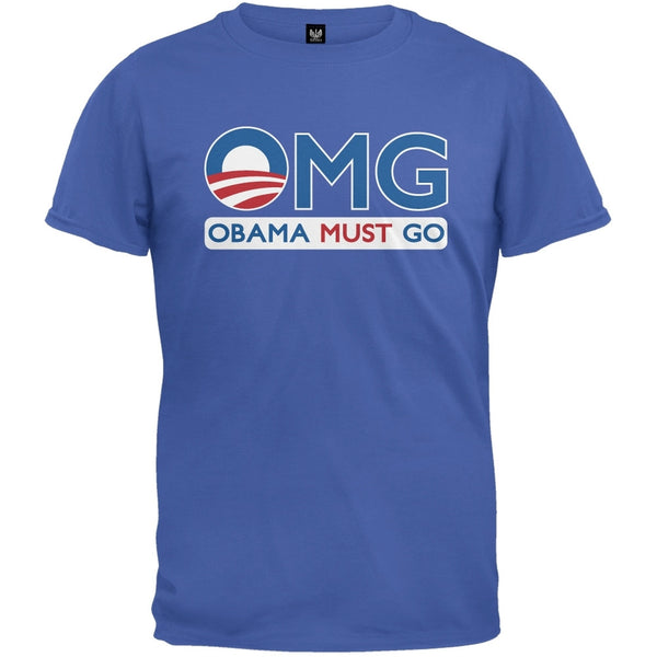 Obama Must Go Royal T-Shirt