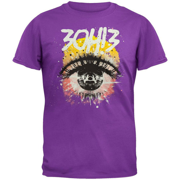 3OH!3 - Purple Eye Soft T-Shirt