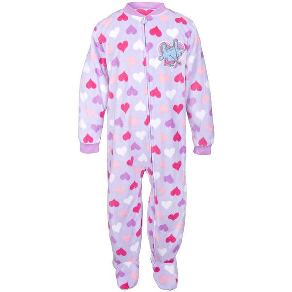 Dr. Seuss - Horton Hearts All-Over Toddler Footed Pajamas