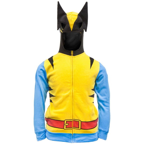 Wolverine - Costume Hoodie Mask on Hood