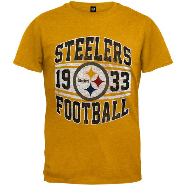 Pittsburgh Steelers - Inaugural Logo Premium T-Shirt
