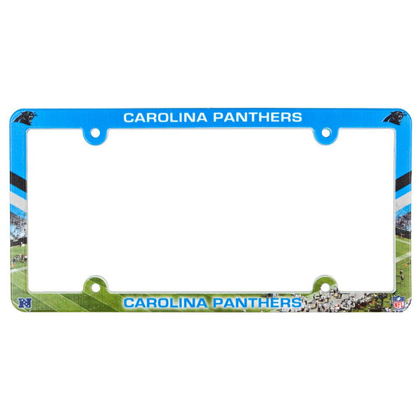 Carolina Panthers - Field Scene License Plate Frame