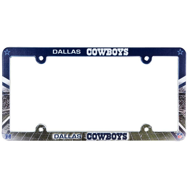 Dallas Cowboys - Field Scene License Plate Frame