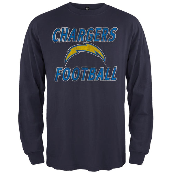 San Diego Chargers - Flanker Logo Premium Long Sleeve T-Shirt