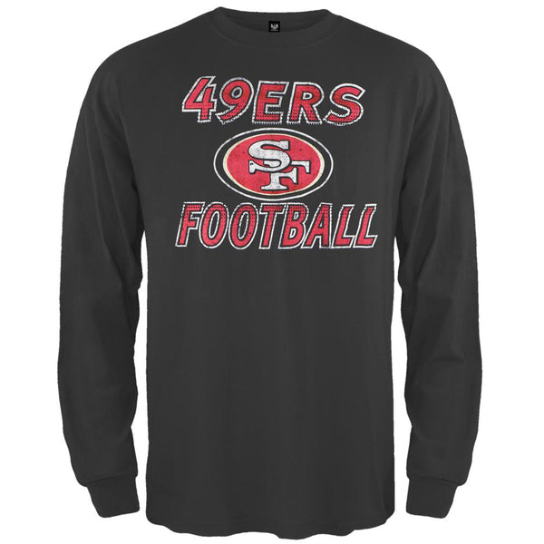 San Francisco 49ers - Flanker Logo Premium Long Sleeve T-Shirt