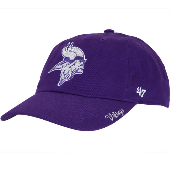 Minnesota Vikings - Logo Sparkle Juniors Adjustable Cap