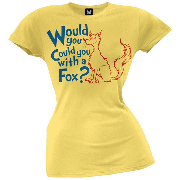Dr. Seuss - With a Fox Juniors T-Shirt