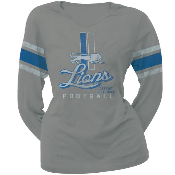 Detroit Lions - Homerun Premium Juniors Long Sleeve T-Shirt