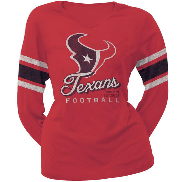 Houston Texans - Homerun Premium Juniors Long Sleeve T-Shirt