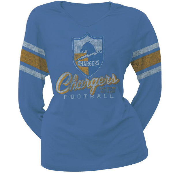 San Diego Chargers - Homerun Premium Juniors Long Sleeve T-Shirt