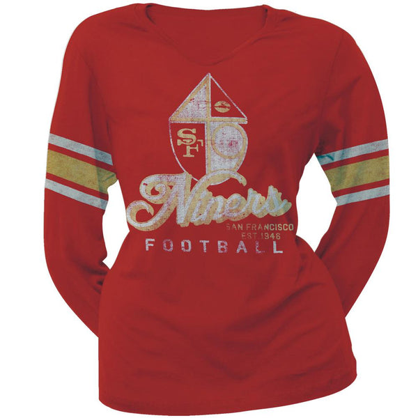San Francisco 49ers - Homerun Premium Juniors Long Sleeve T-Shirt