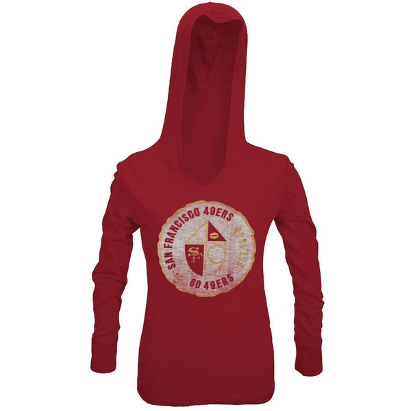San Francisco 49ers - Primetime Juniors Hooded Long Sleeve T-Shirt
