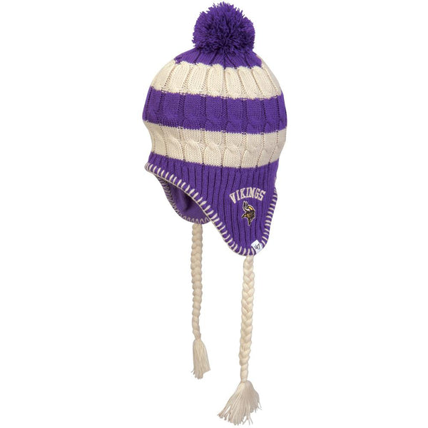 Minnesota Vikings - Logo Sherpette Juniors Knit Hat