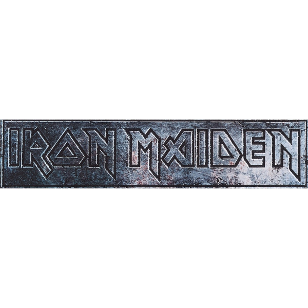 Iron Maiden - Engraved Logo Decal