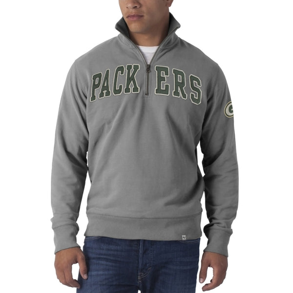 Green Bay Packers - Striker 1/4 Zip Premium Sweatshirt