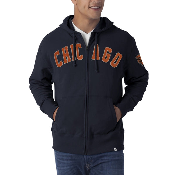 Chicago Bears - Striker Full Zip Premium Hoodie