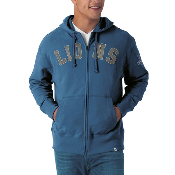 Detroit Lions - Striker Full Zip Premium Hoodie