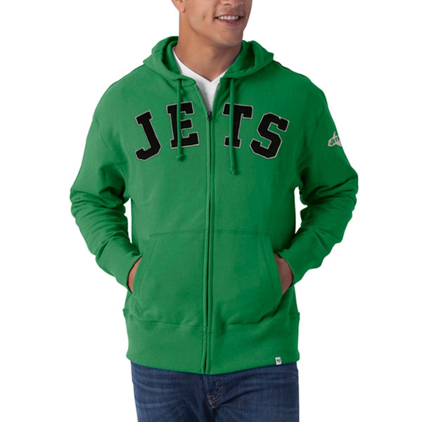 New York Jets - Striker Full Zip Premium Hoodie