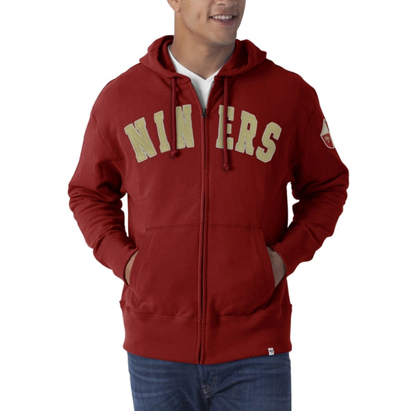 San Francisco 49ers - Striker Full Zip Premium Hoodie