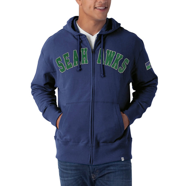 Seattle Seahawks - Striker Full Zip Premium Hoodie