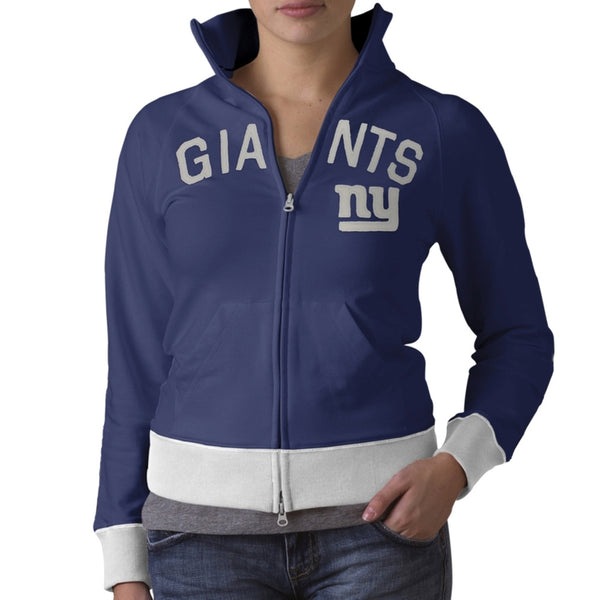 New York Giants - Tennis Premium Juniors Stretch Track Jacket