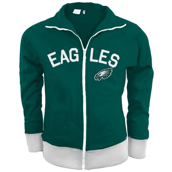 Philadelphia Eagles - Tennis Premium Juniors Stretch Track Jacket