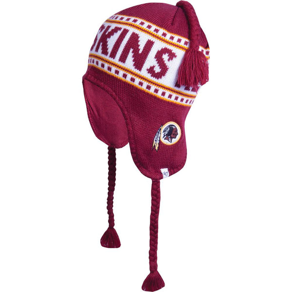 Washington Redskins - Side Logo Montreux Peruvian Knit Hat